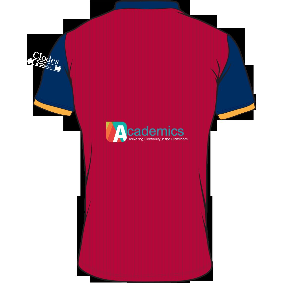 bd9af290c Cardiff Met AFC Adult Home Shirt 2018 19 - Tusk Teamwear